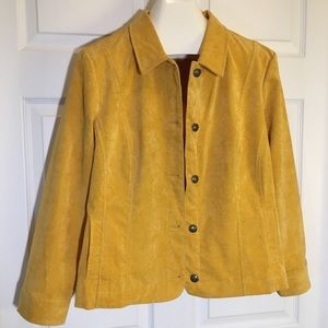 Christopher & Banks Corduroy Jacket, Petite XL